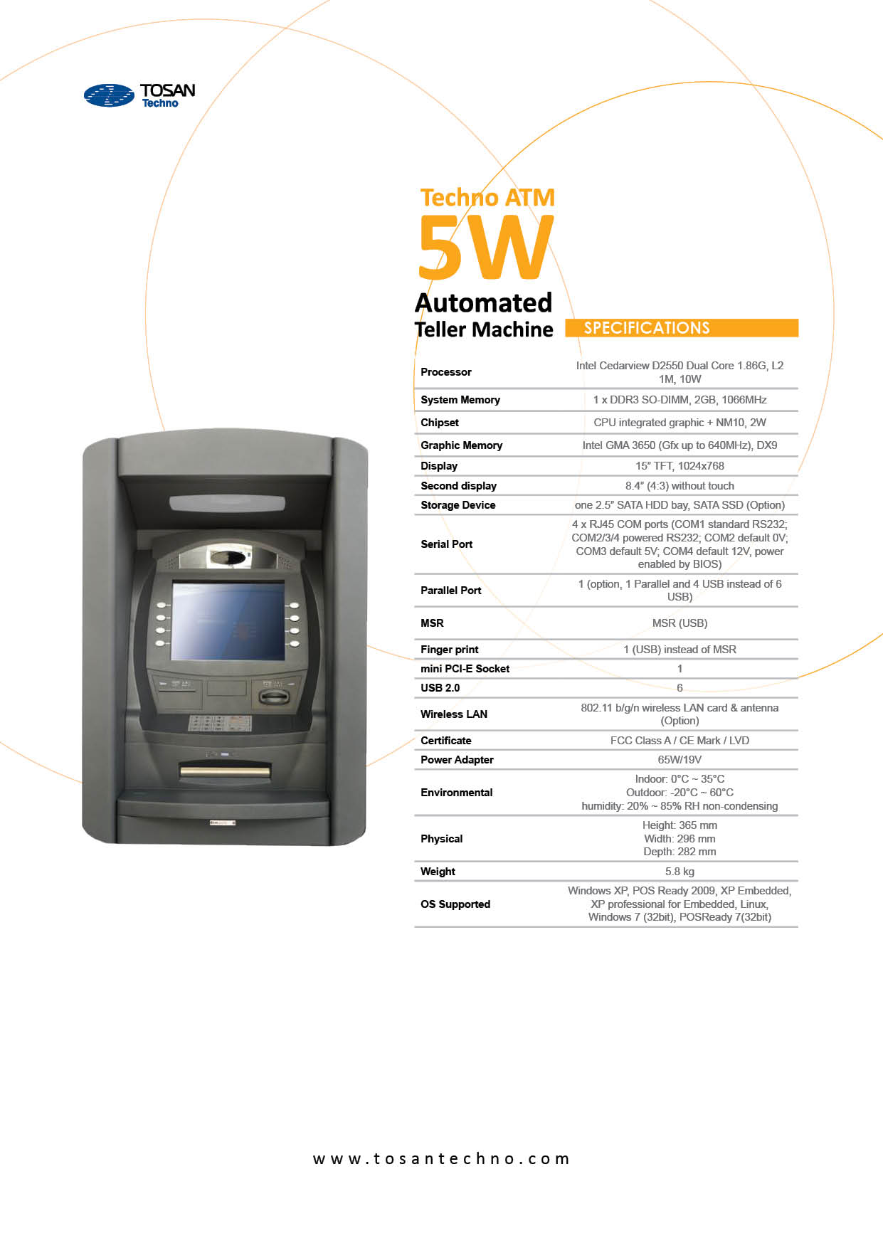 TechnoATM5W