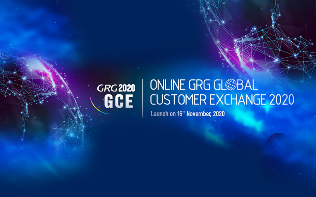 ONLINE GRG GLOBAL CUSTOMER EXCHANGE 2020 (GCE 2020) will be held