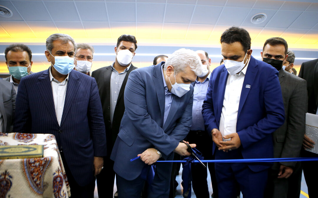 The unveiling of TOSAN TECHNO production line of smart card readers with the presence of the Vice President of IRAN for Science and Technology