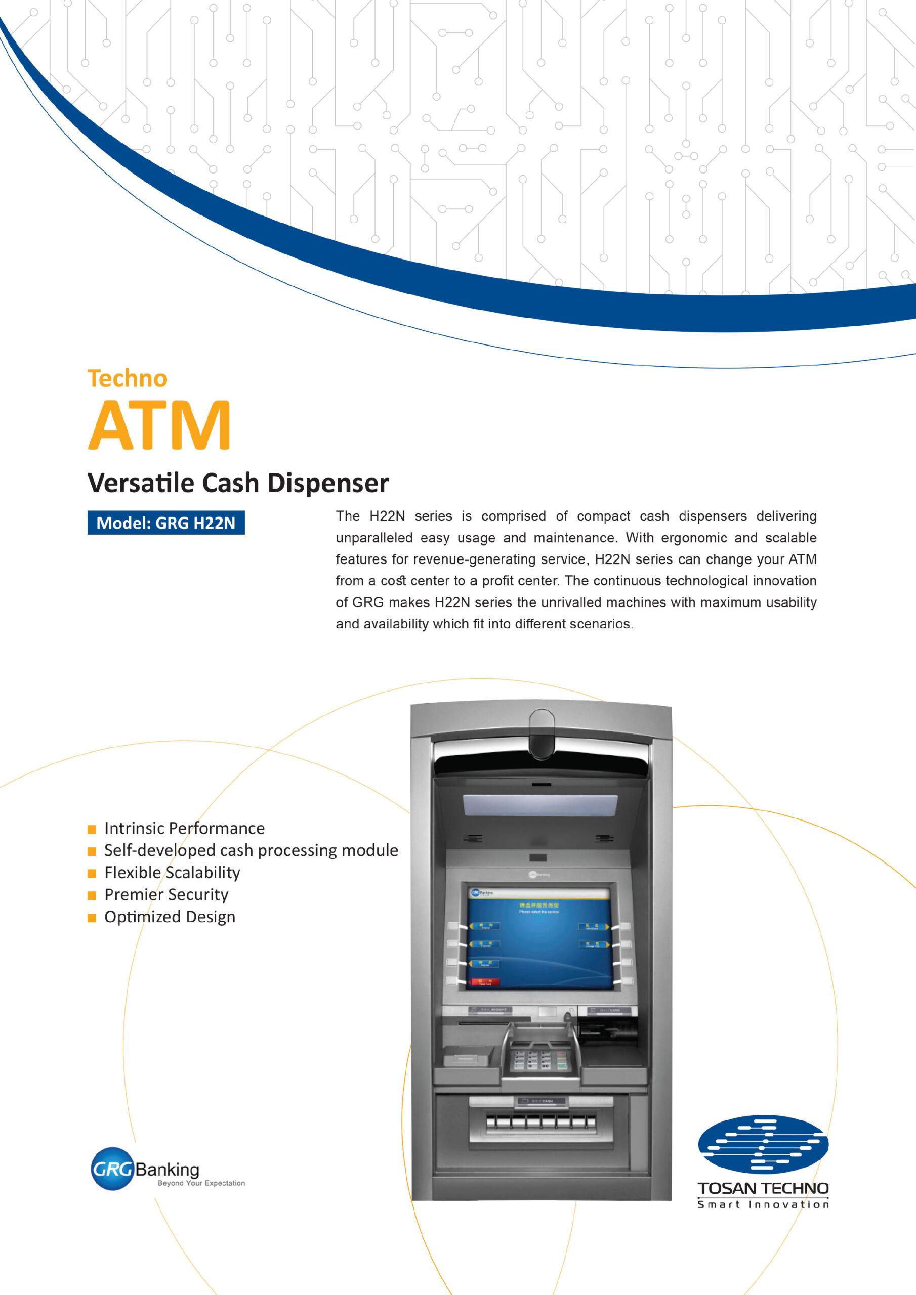 TECHNO-ATM-GRG-H22N F